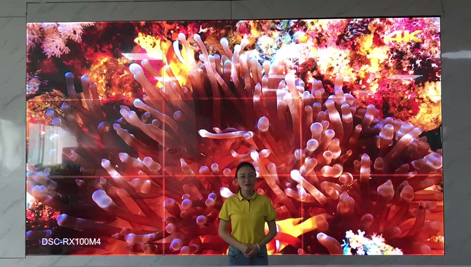 Multi Screen Digital Signage Lcd Display 4K Uhd Led Video Wall On Sale For Exhibit