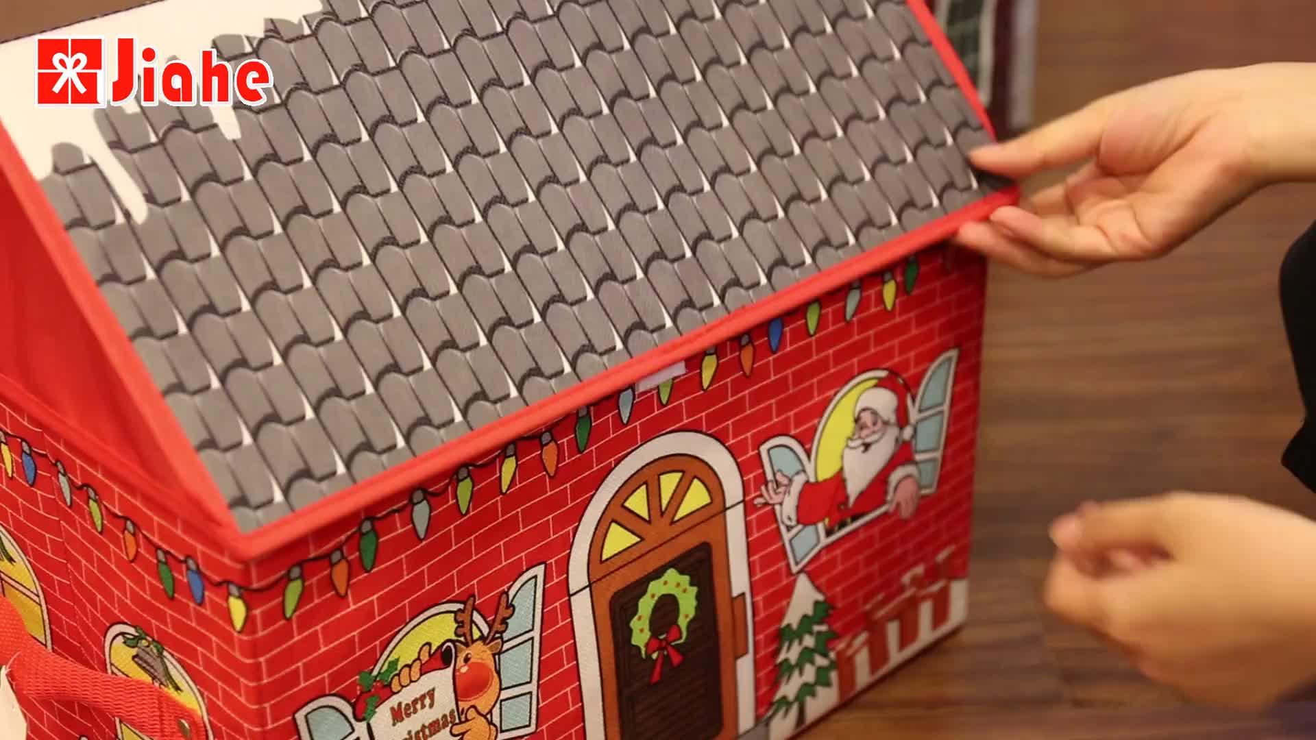 דקורטיבי בד מתקפל מתקפל בית ילדים צעצוע אחסון