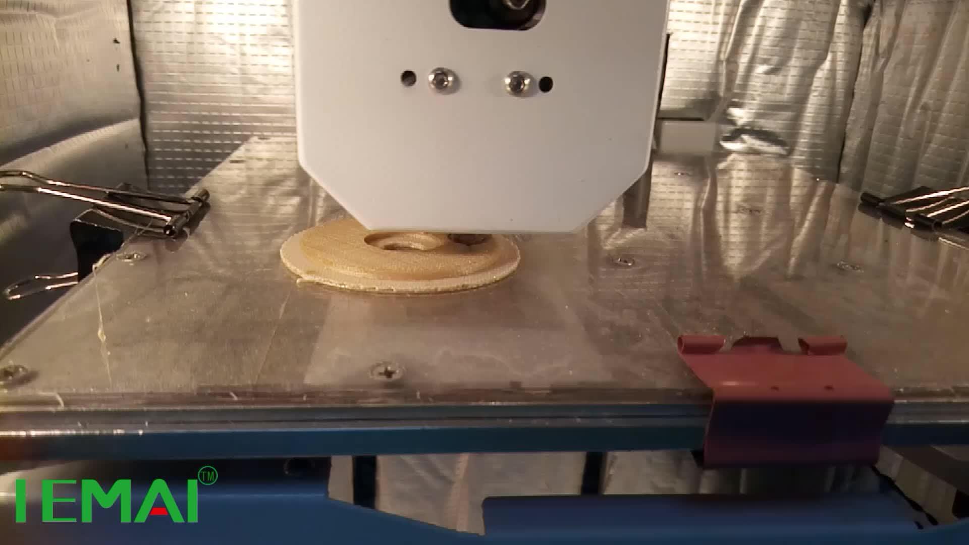 Dispositivo multifuncional máquina impressora 3D para pei ultem material peças ao preço de fabricação