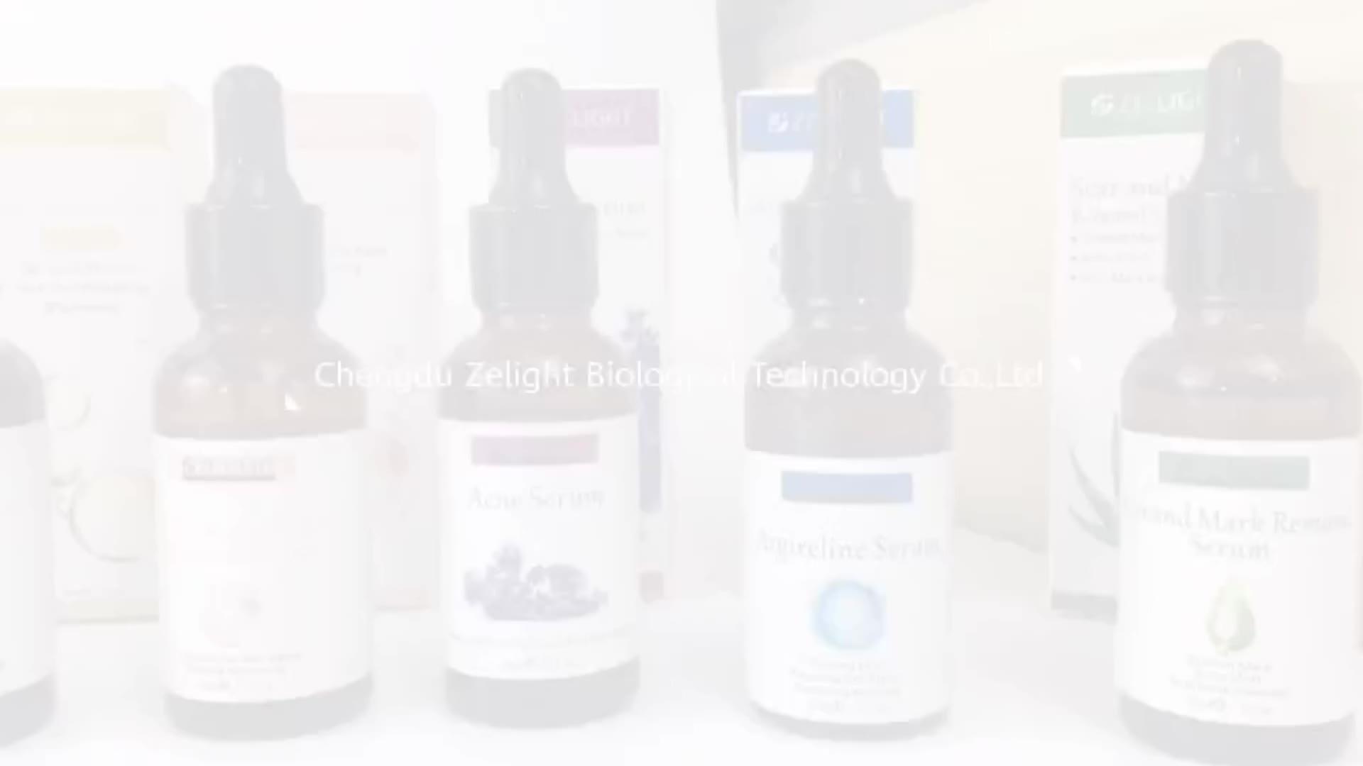 Facial Epidermale Groeifactor Oligopeptide Serum Bioeffect EGF FGF Gold Repareren Stem Cell EGF Huid Litteken Reparatie Gezicht Serum