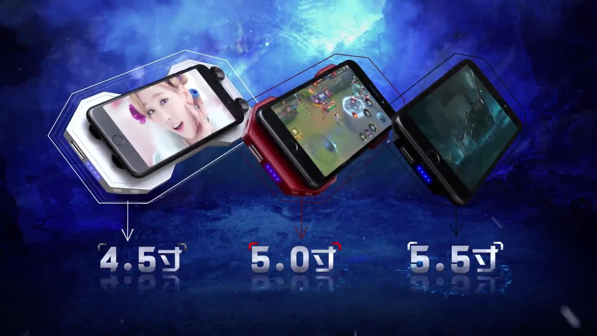 טלפון Cooler 5V כוח נייד Smartphone קירור רדיאטור Stand טלפון קירור מחזיק