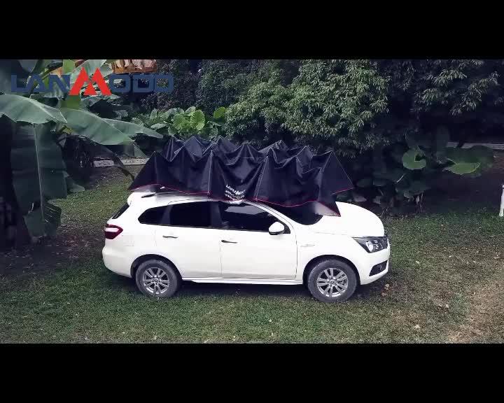 Lanmodo Hohe Qualität Auto Waschen Zelt Wirtschaftlich Automatische Anti-wind Wasserdicht