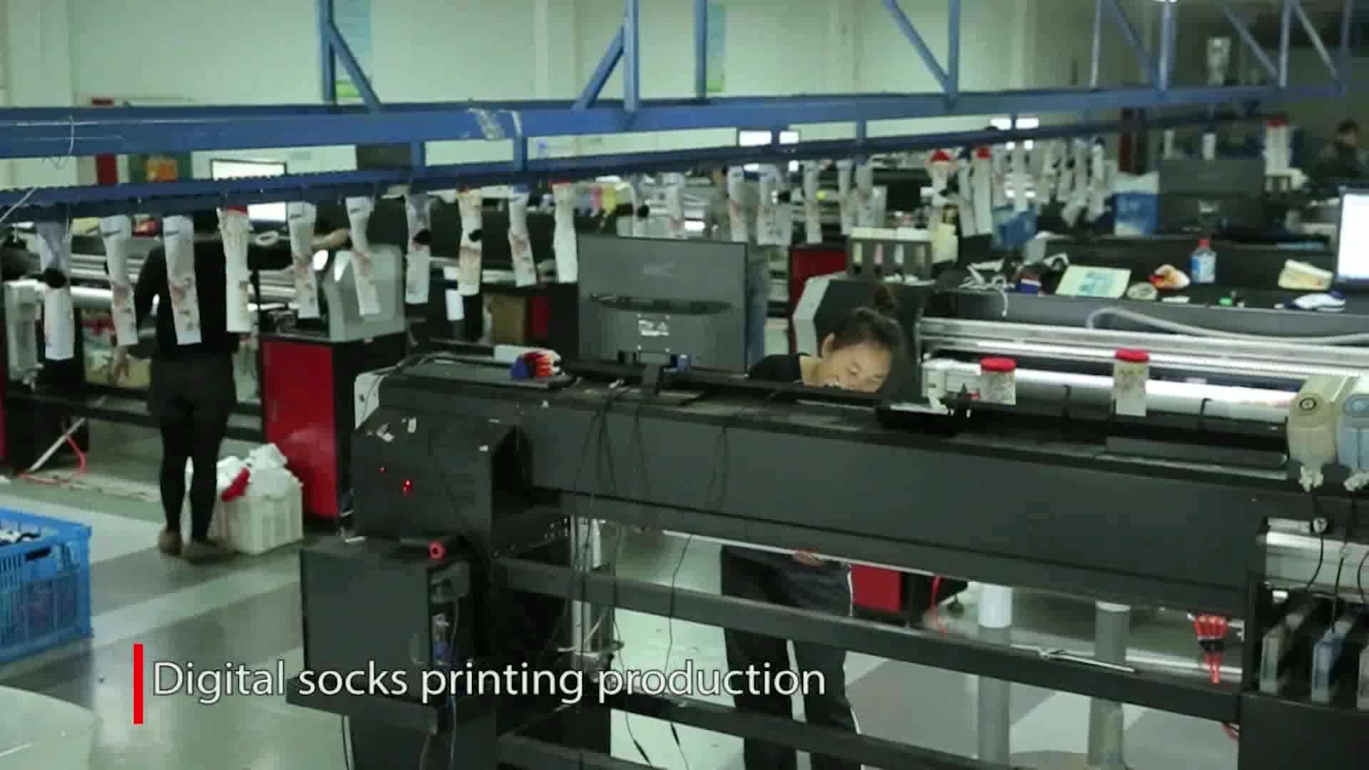 High Efficiency High Resolution 360 Degree Seamless Digital Textile Printer for Socks, Shorts, Bra, Underwear