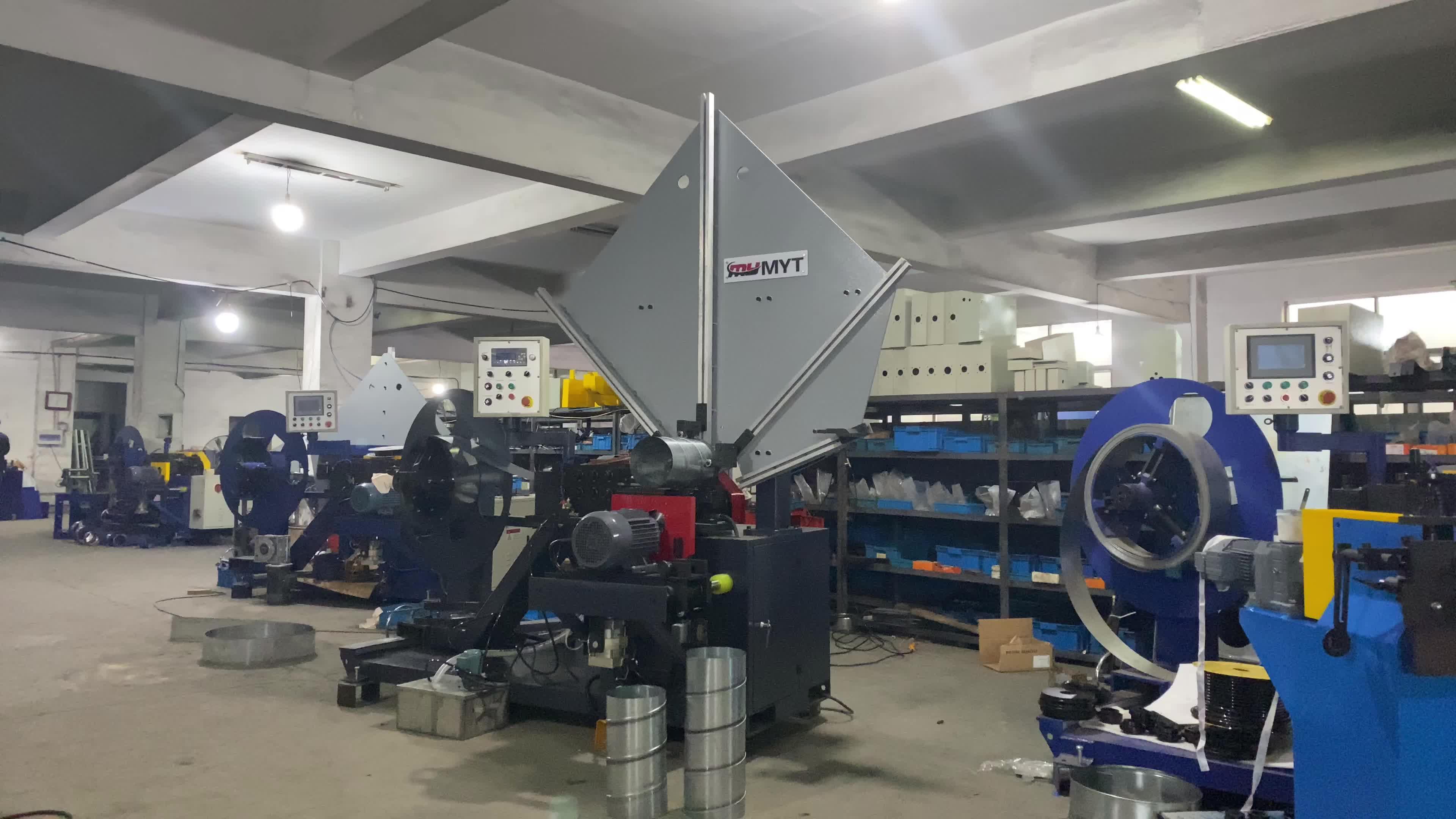 MYT 브랜드 MYTF-1500 HVAC 라운드 파이프 기계 나선형 덕트 제조 기계