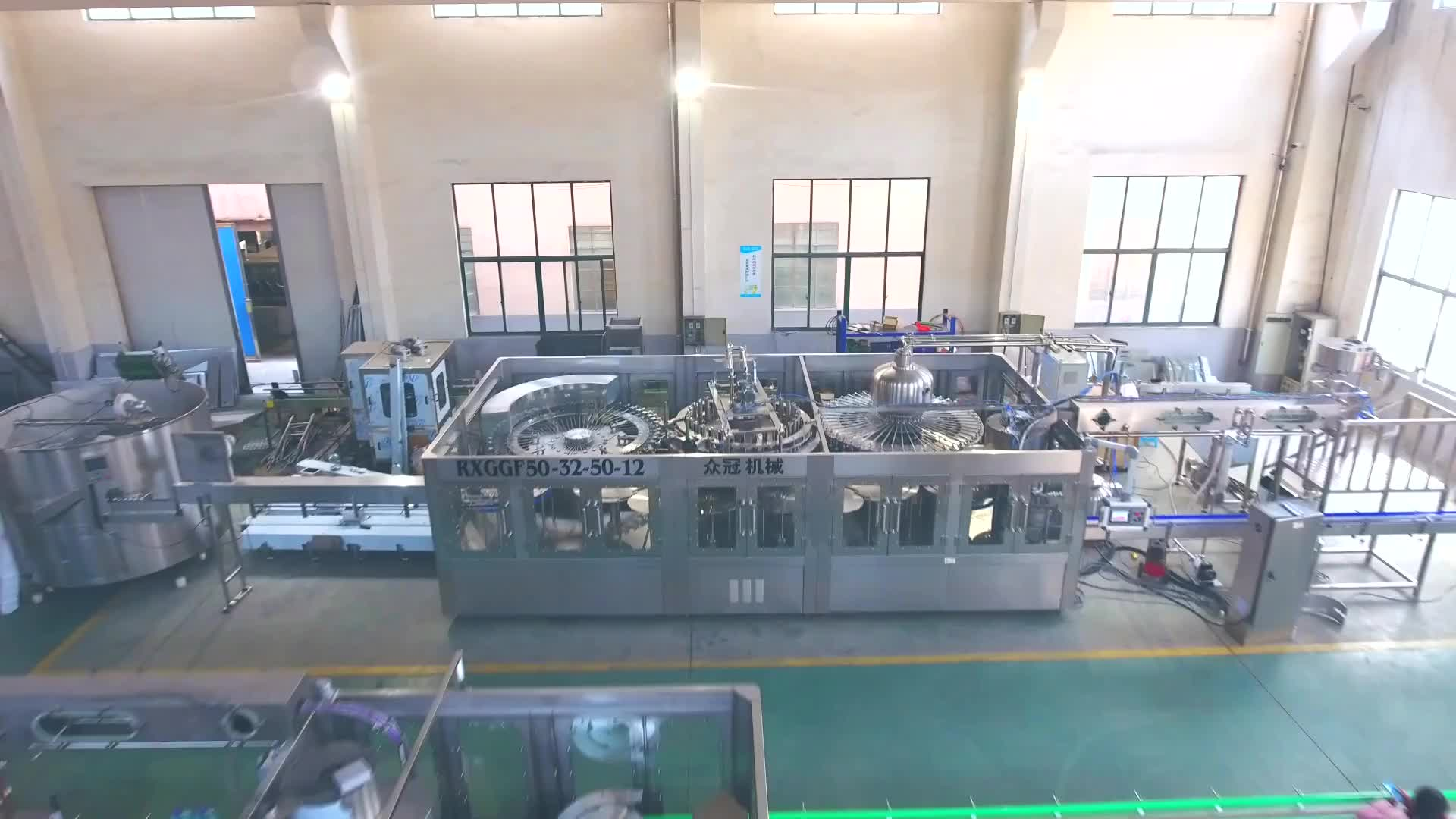 High Speed Complete Water Bottle Filling Line for Turnkey Project,Water Machine Bottling