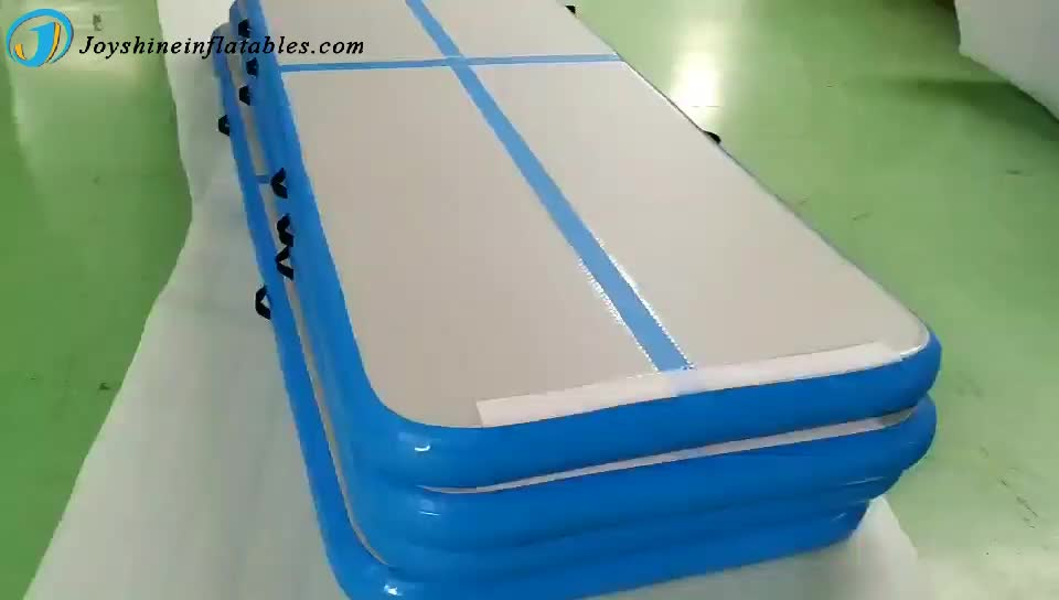 Air Track Factory Wholesale 3m x 1m DWF Inflatable Gymnastics Mat With Pump