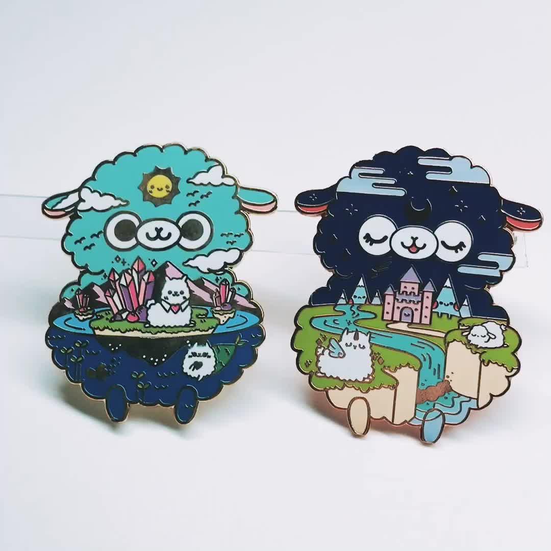 China fabricante de costume promocional duro esmalte pin de lapela pinos de souvenirs