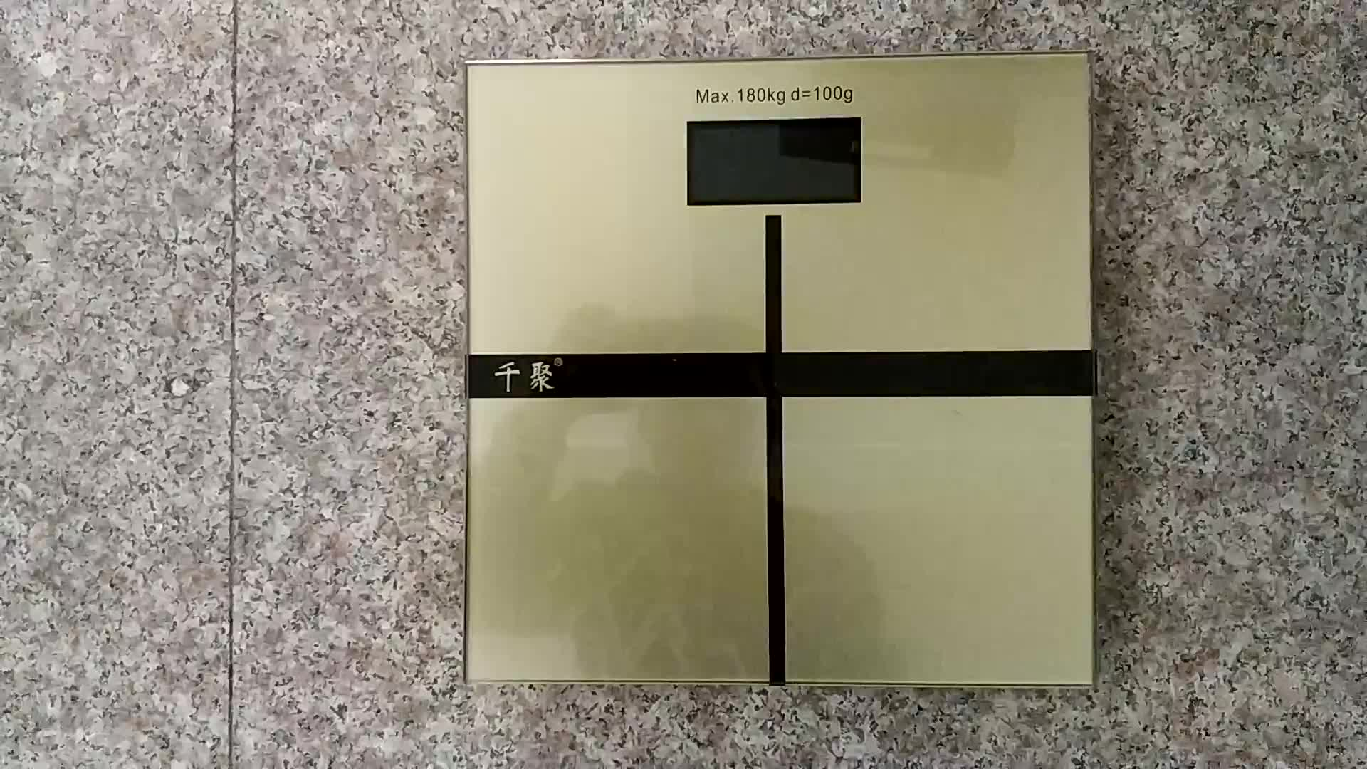 LED Bathroom Scale 180Kg 396lb Body Weight Scale