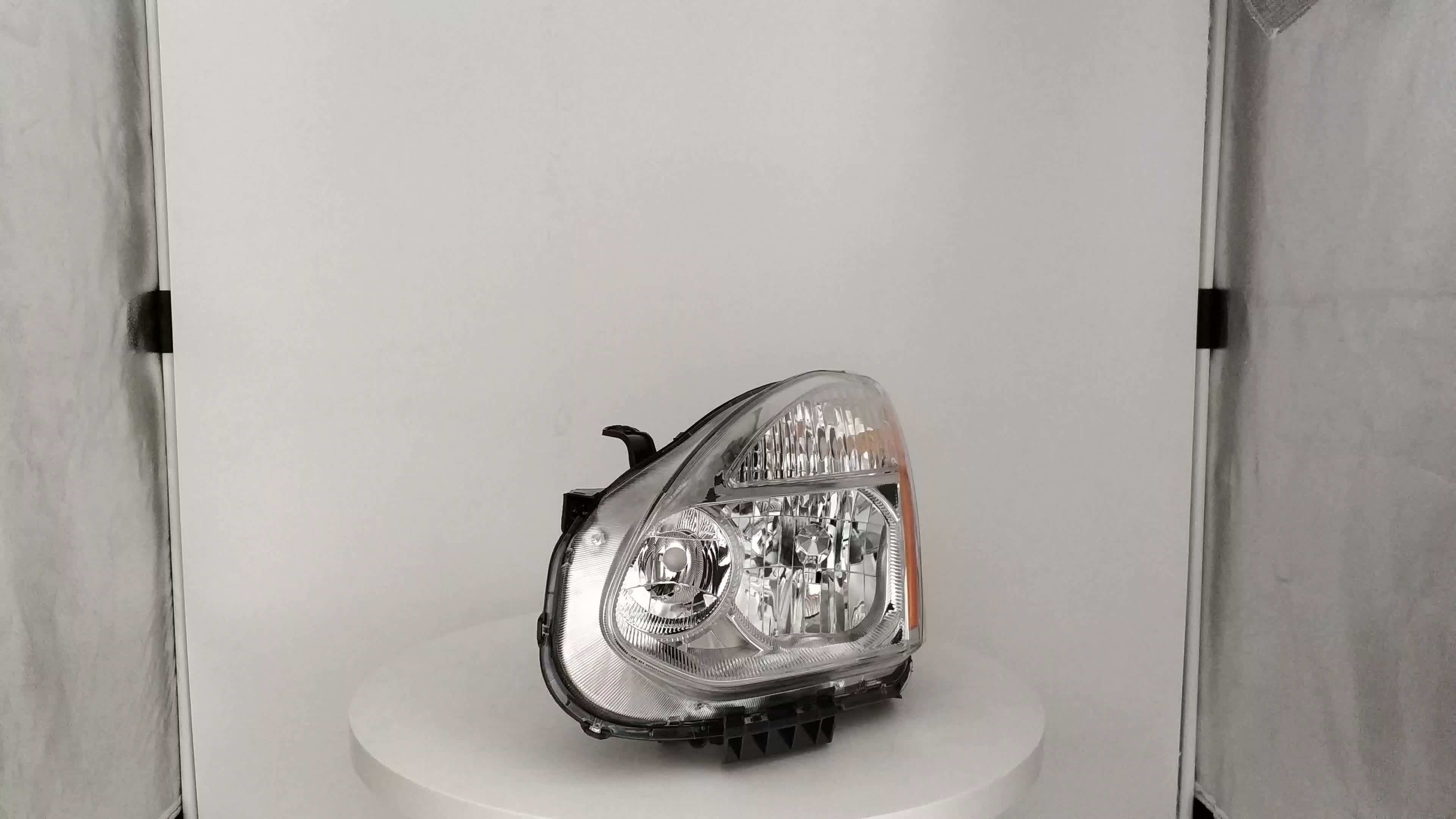Car lights for Nissan 2008 2009 2010 2011 2012 2013 Rogue Replacement Headlights