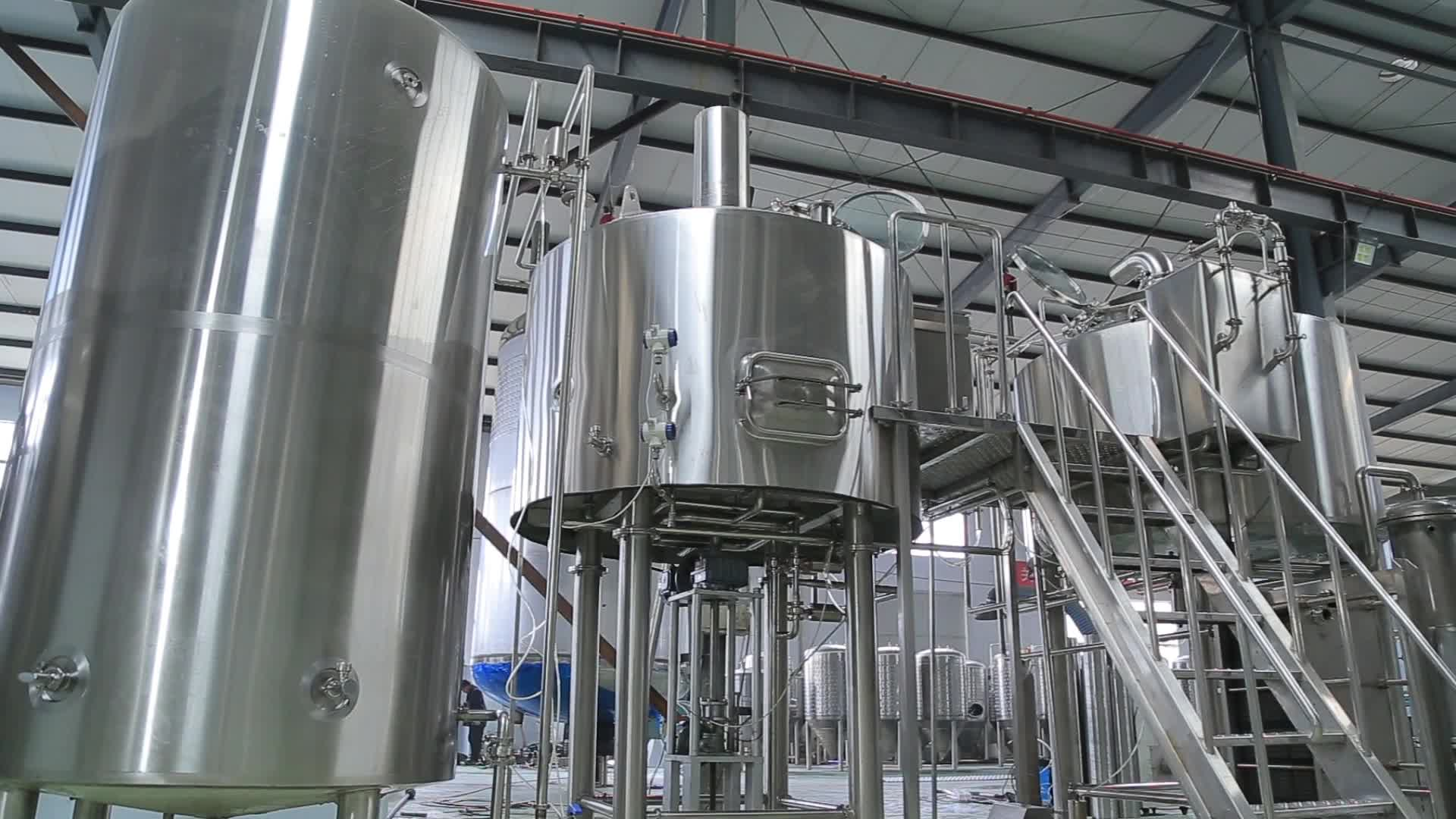 mini beer factory/non alcoholic beer equipment for the beer