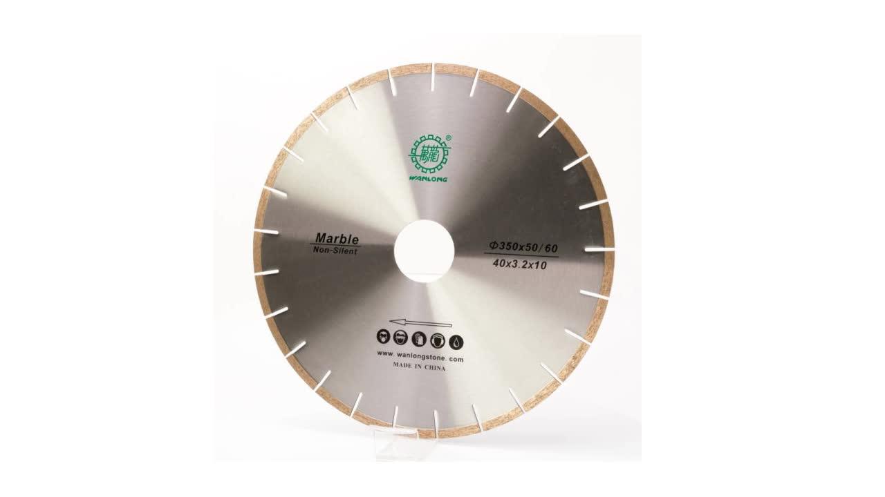 Yüksek kaliteli WANLONG elektroliz elmas testere bıçağı