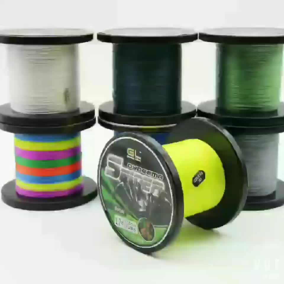 2000M 8 strands super strong pe braided fishing line