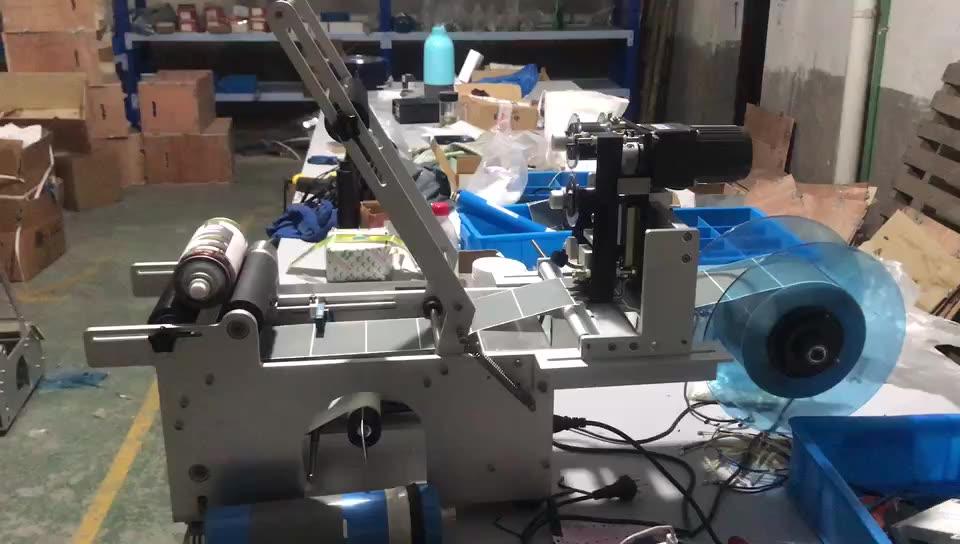 HBL-M103 Hanboo Полуавтоматическая этикетировочная машина для цилиндрических бутылок с автоматическим датчиком, но без принтера