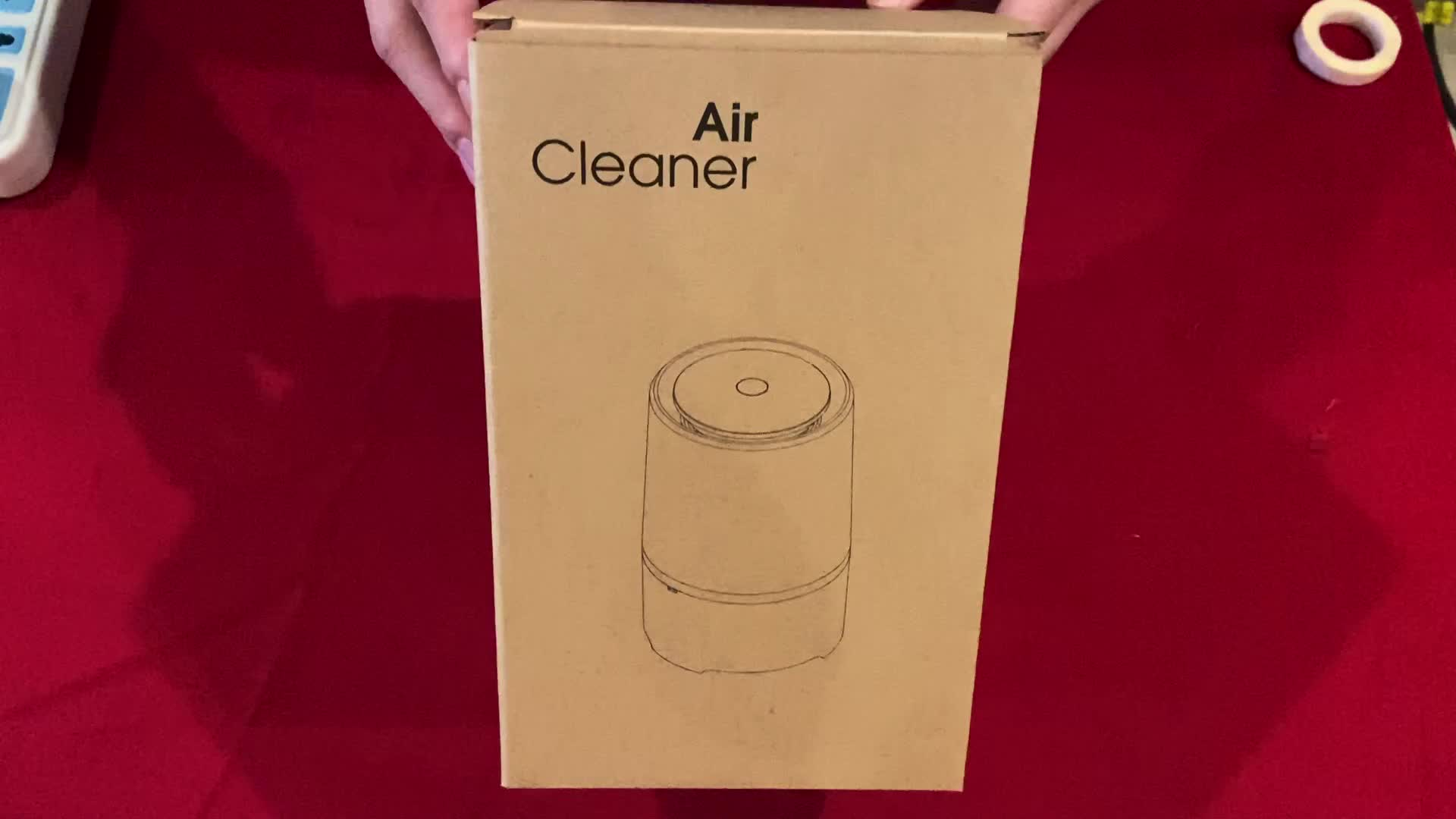 2020 New Product Mini portable hepa air purifier ionizer,Removes Dust, Cigarette Smoke, Available For Automobile and Small Room.