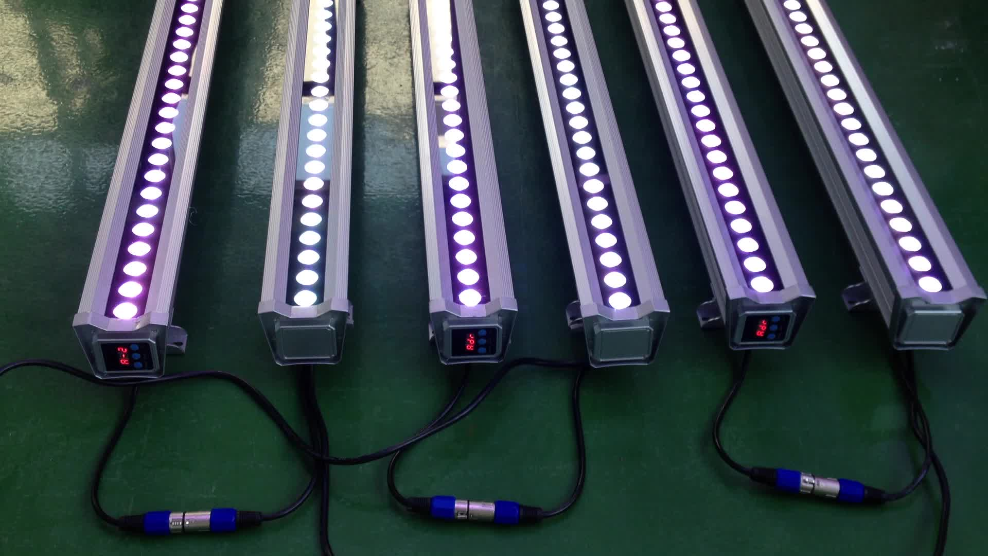 Long Life High Quality 1M Ip65 36W RGB Stick Led Wall Washers For Sale With SAA CE ROHS