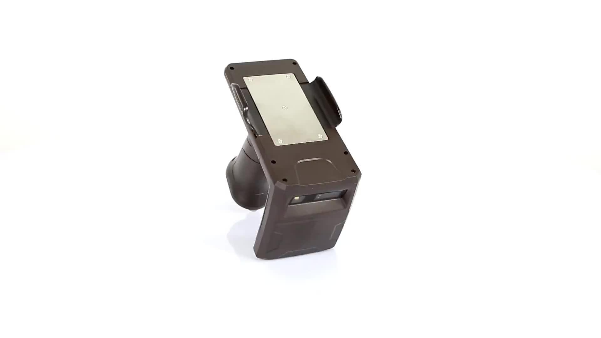 EM3396 2D barcode scanner + Handheld UHF RFID Reader HT518UR