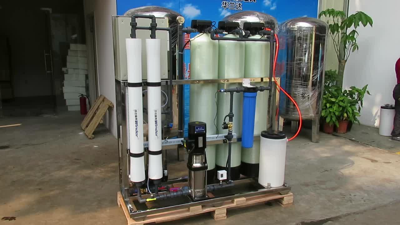 5 passo 500LPH dialisi osmosi inversa sistema di purificazione di acqua industriale