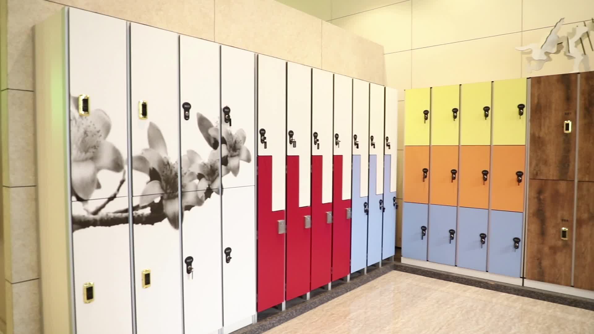 AOGAO China Swimming Pool Compact Laminate Lockers For Gym