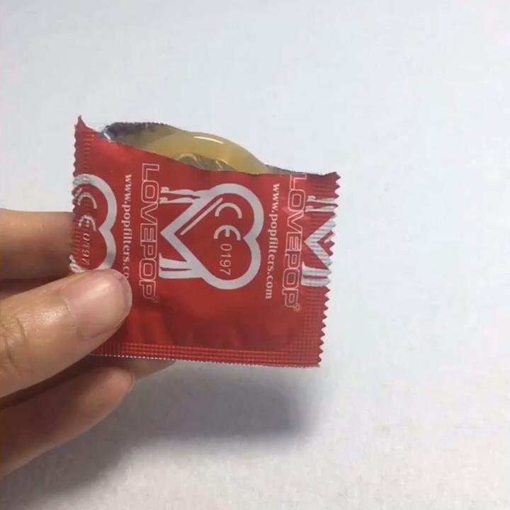 Rubber Latex Condoms for Men Lubricant Flavored Condom
