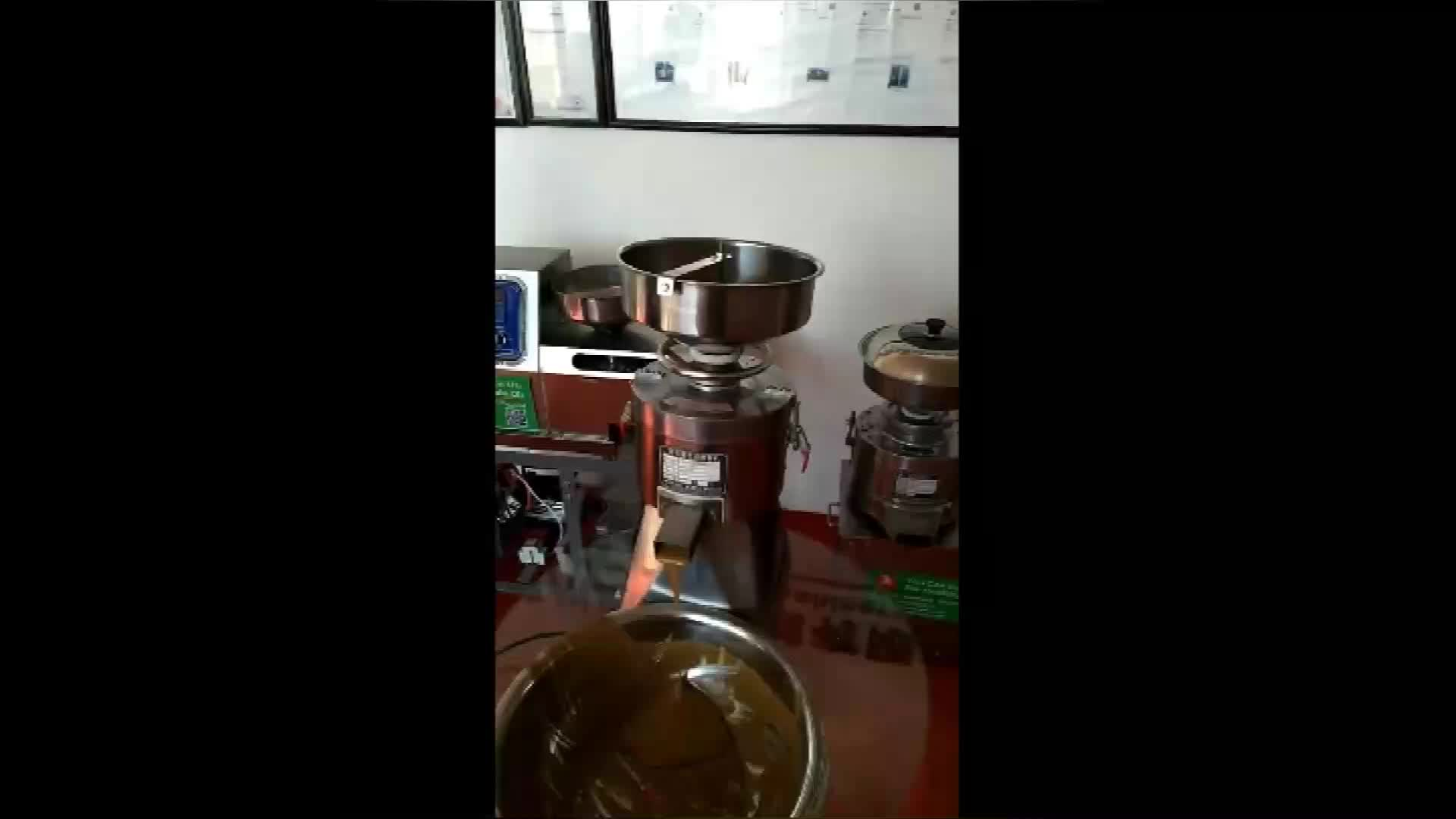 Small Scale Stainless Steel Peanut Butter Making Machine For Australia