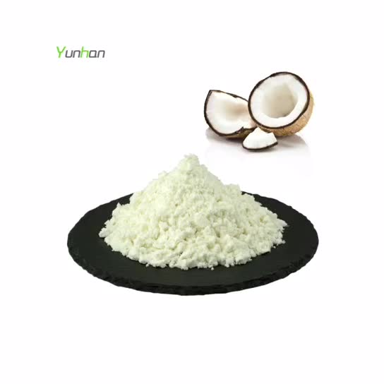 आपूर्तिकर्ता कच्चे प्रकृति कार्बनिक नारियल का दूध पाउडर थोक कम वसा Desiccated नारियल पाउडर