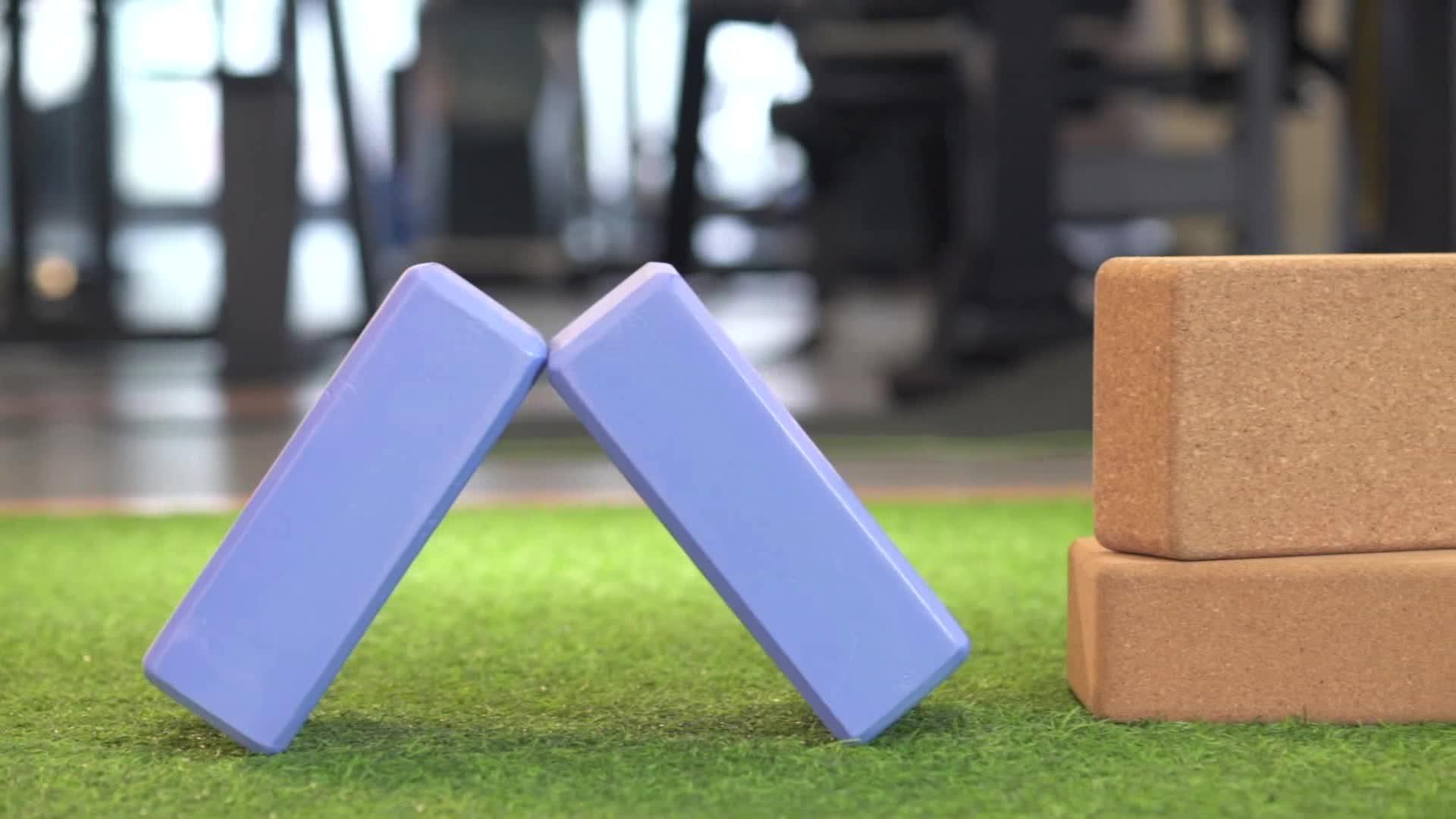 Provides Stability Balance Customized Color EVA Yoga Block / Exercise Block