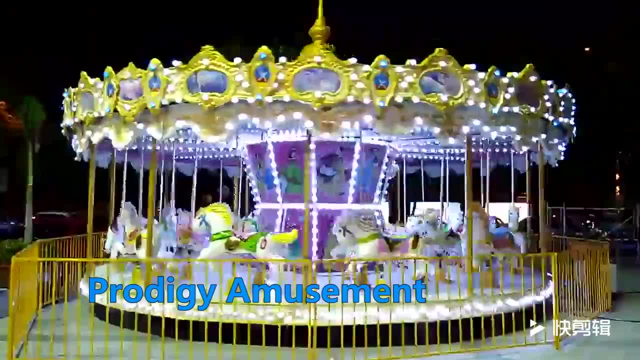 best sell new theme park amusement rides carousel