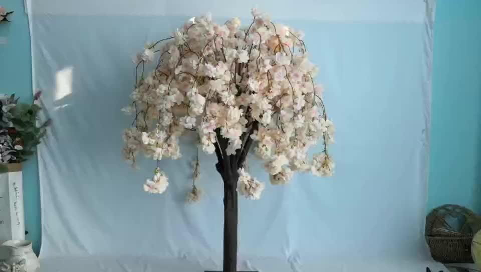 FL-HCB1 wedding decor silk hanging cherry blossom