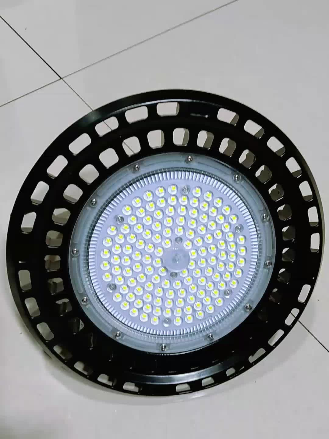 Hotcake led lamp high lumen UFO led high bay lighting 200W LED industrial light with PC lens
