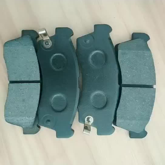 Custom auto brake pad D9041 GDB7736 rotor for Mazda