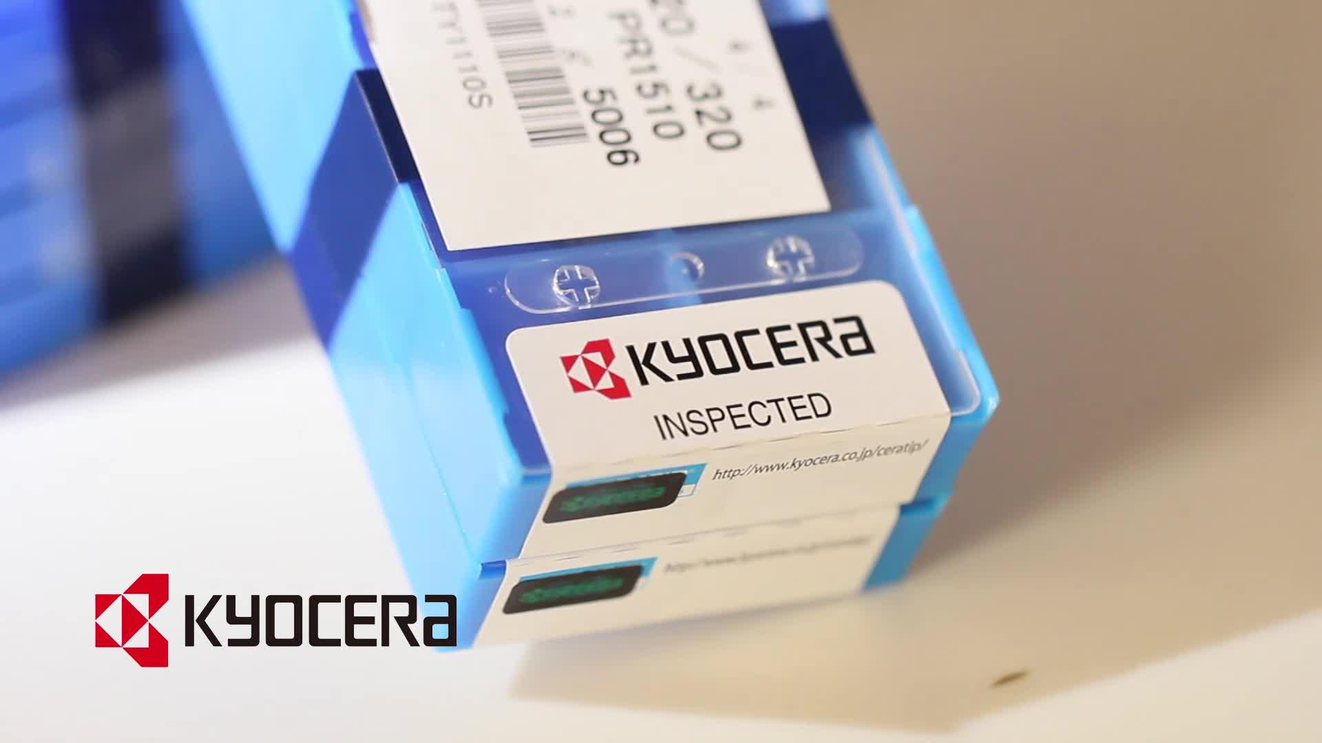 מקורי kyocera מכונה מחרטת כלים הפיכת להכניס לפרידה וחיתוך