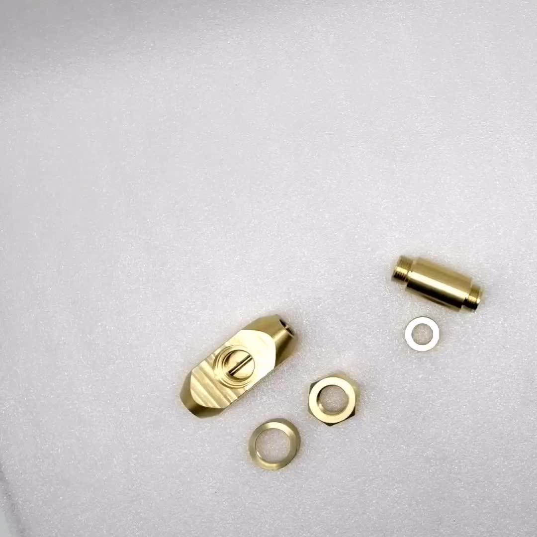 Быстрая обработка cnc латунные части частей, Cnc токарные фрезерные мотоциклетные латунные ноги Баланс автозапчастей