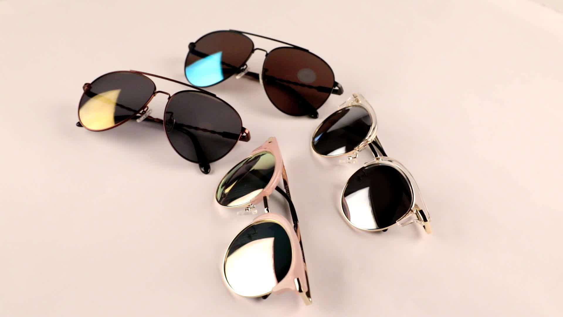 Gafas de sol polarizadas con banda de Metal Y & J para hombre