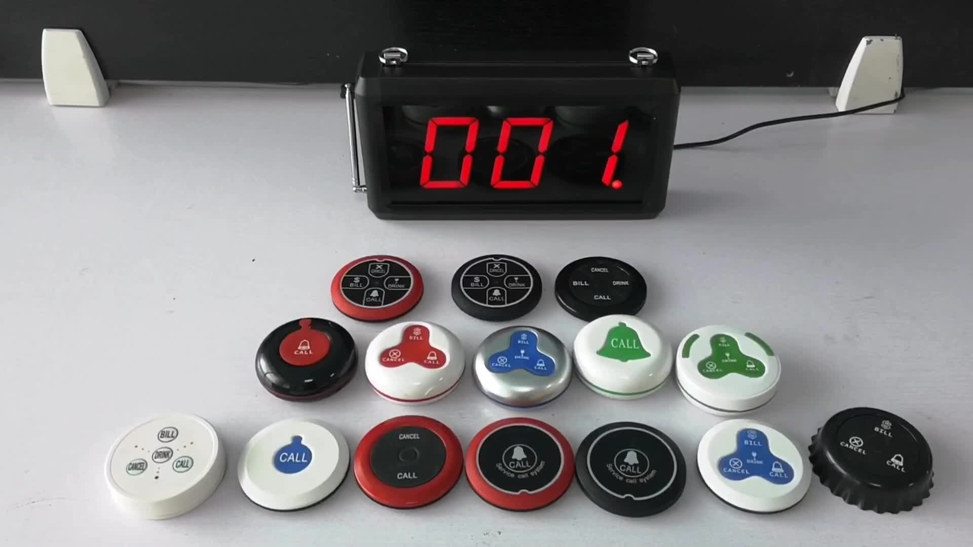 New Arrival Wireless Elevator Alarm Button K-302+K for Construction Site