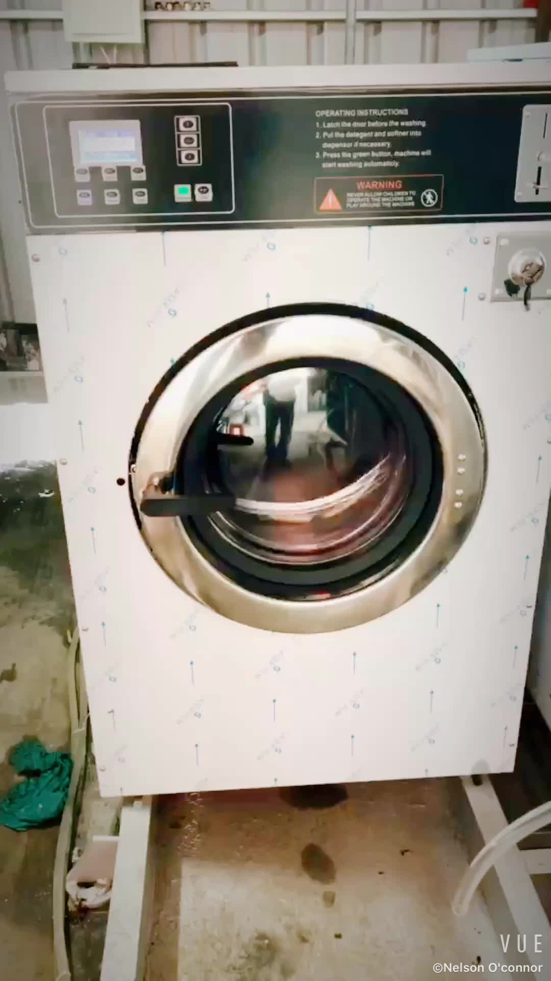 coin laundry machine cost