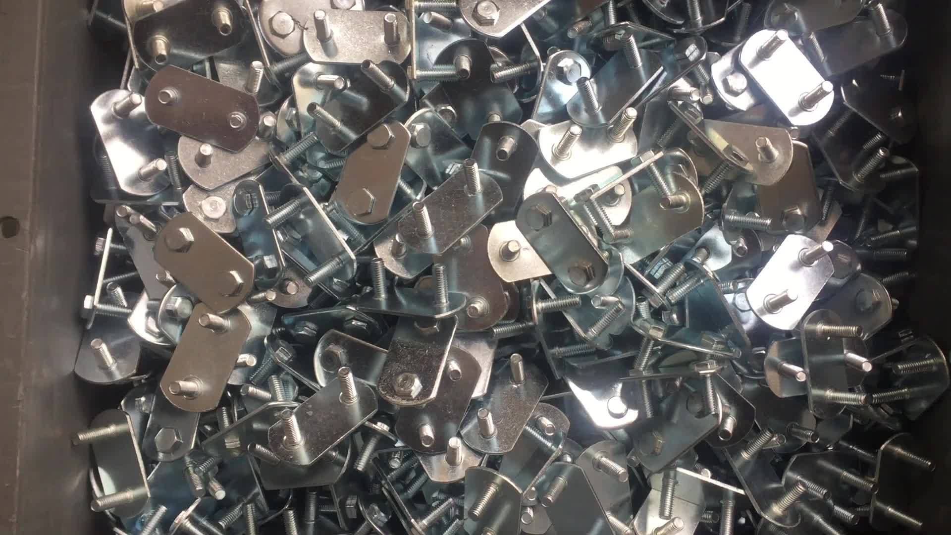 GL-15214 Steel Bolt Plate With Locking Nuts For Overcentre Buckle