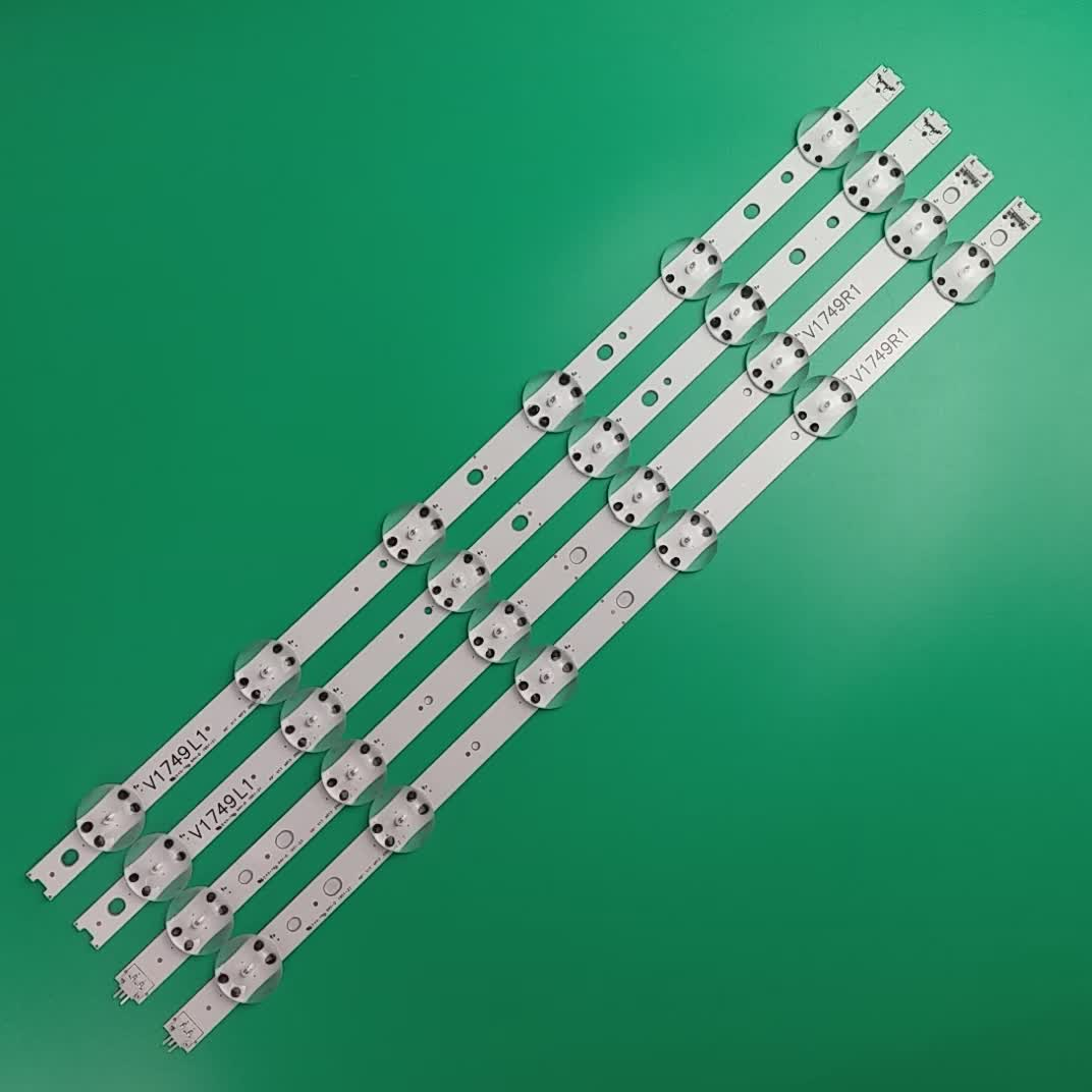 Quality TV LED bar strip backlight for LG 49UJ V17 49 R1 JB3B1591A02499 6916L-2863A 2862A ART3 REV0.2  49UJ6500