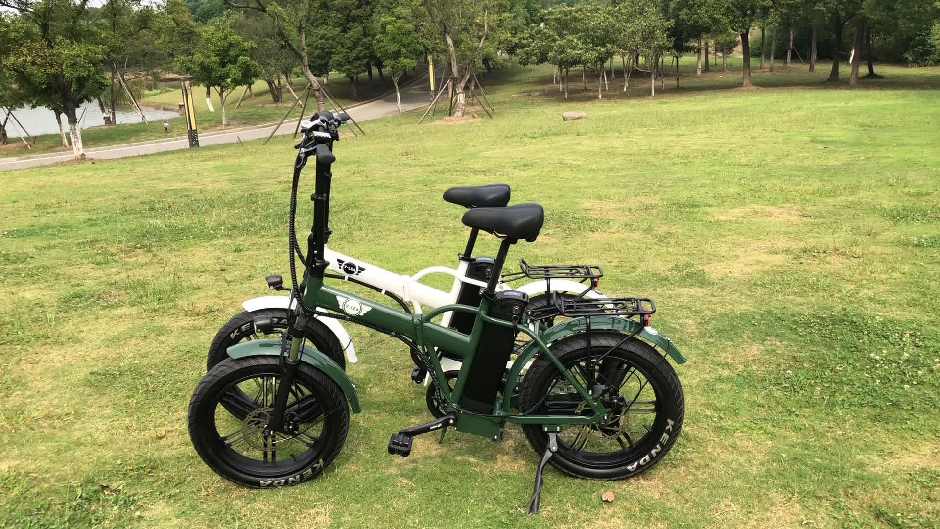 2019 20 inch 48 V 500 W 750 W chất béo lốp gấp xe đạp điện với giá rẻ giá MF-802