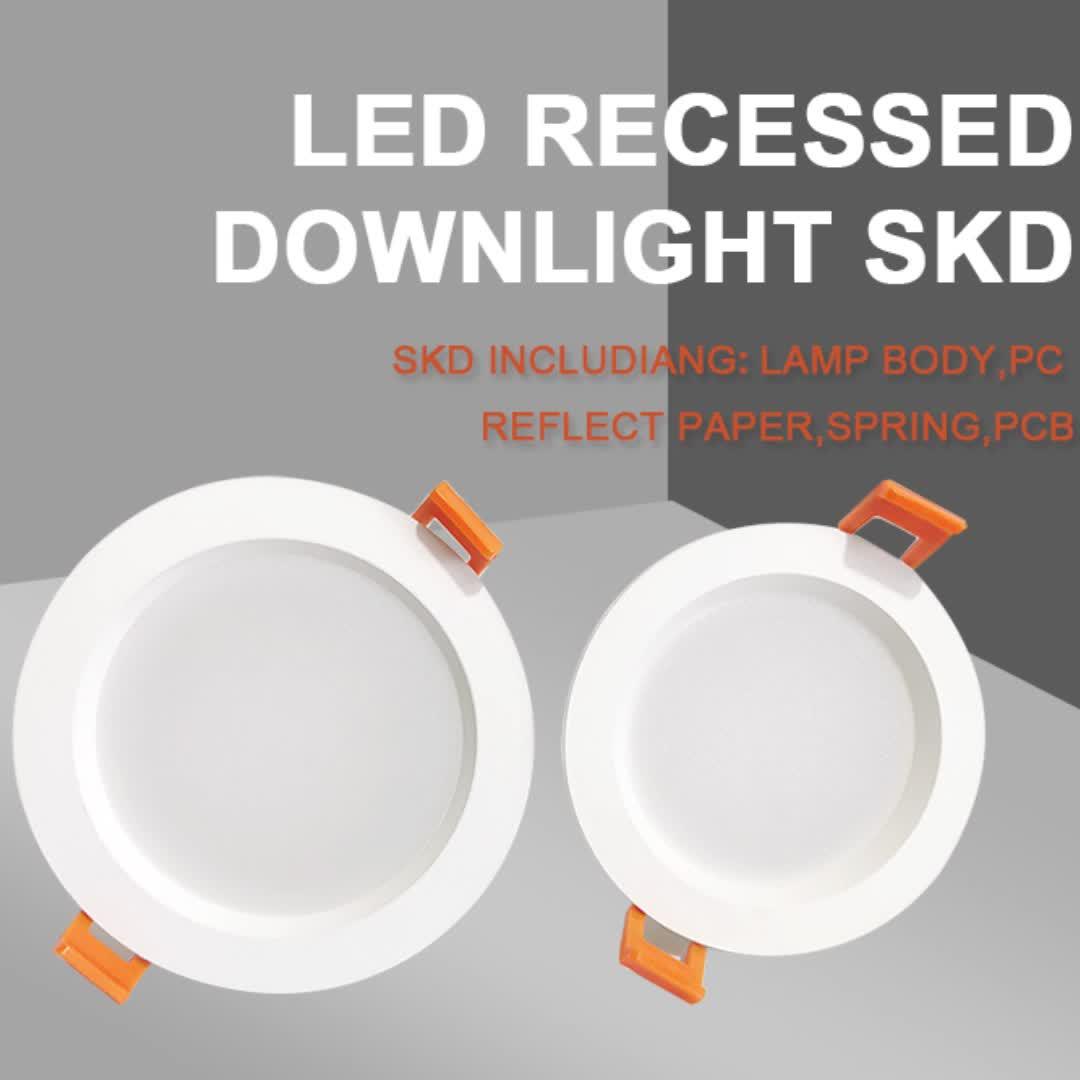 Verzonken Led Down Light Skd Armaturen Behuizing 9 Watt Smd In Lage Prijs
