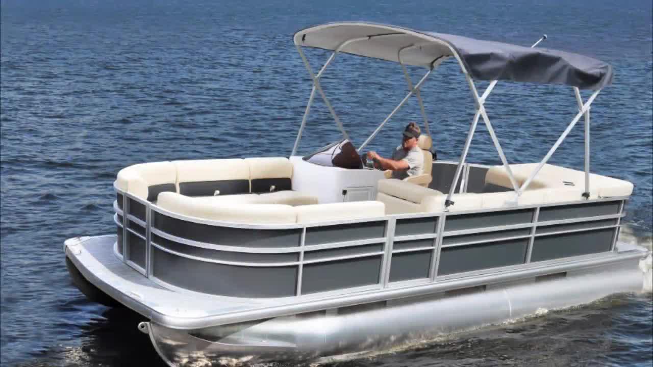 2019 New Ecocampor CE Luxury Aluminum Floating Fishing Houseboat Pontoon Boats for sale