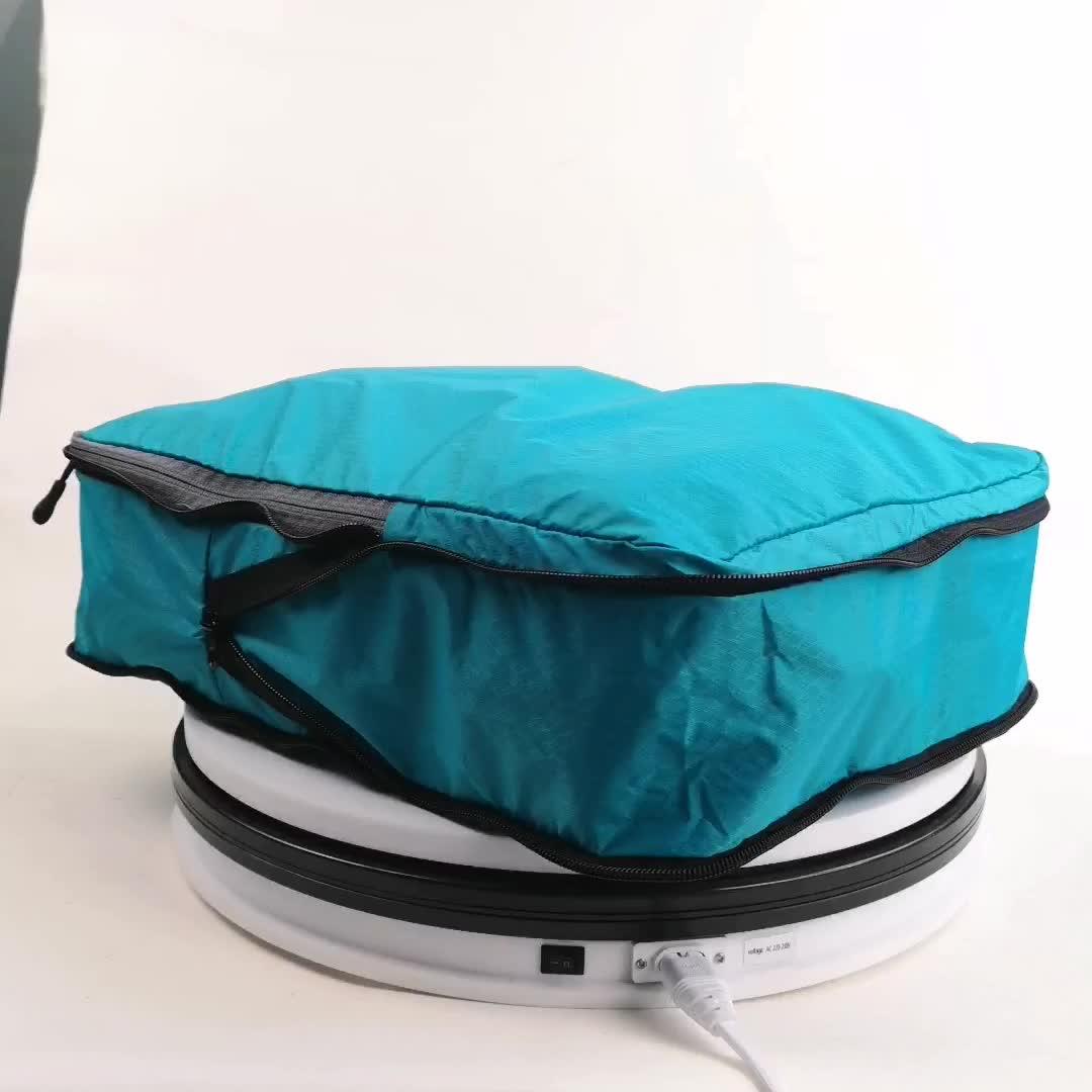 Mesh verpackung würfel kompression nylon reise verpackung würfel für koffer