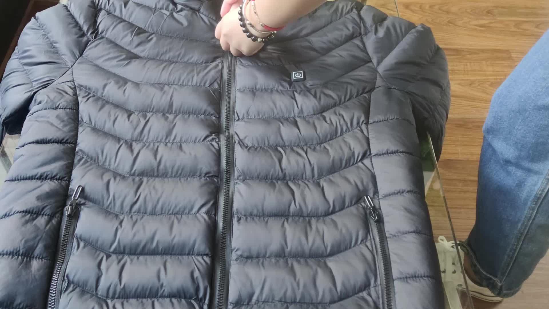 Coupe-vent Softshell Chauffée Veste D'hiver Pour Hommes