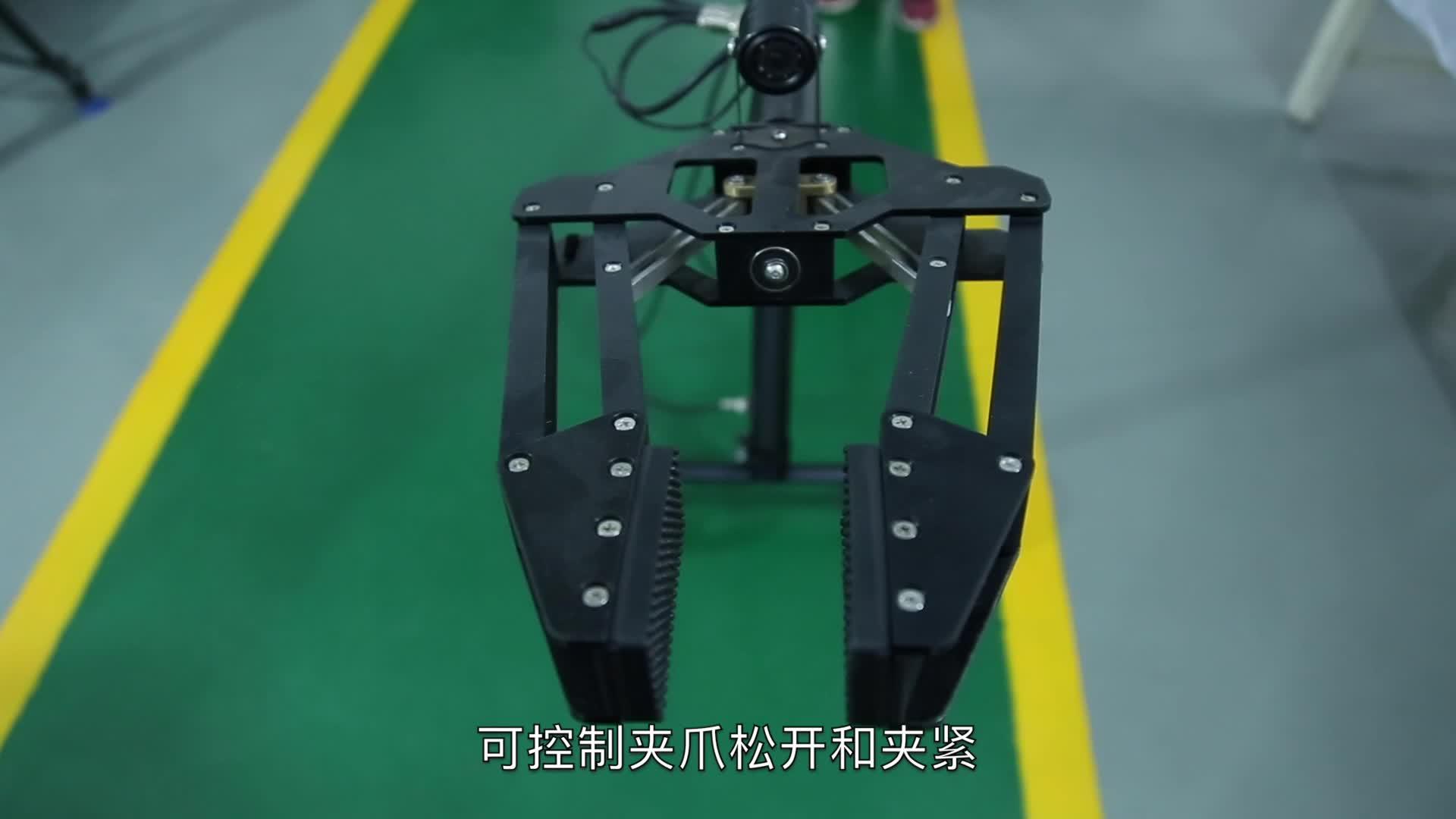 Equipamento militar telescópico eod robô mecânico braço manipulador