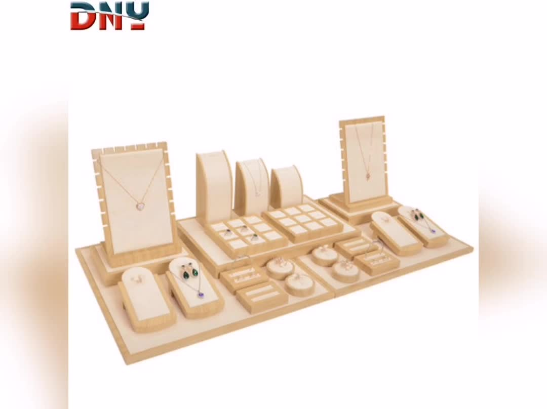 New watch display tray brushed watch set stand counter window watch display props