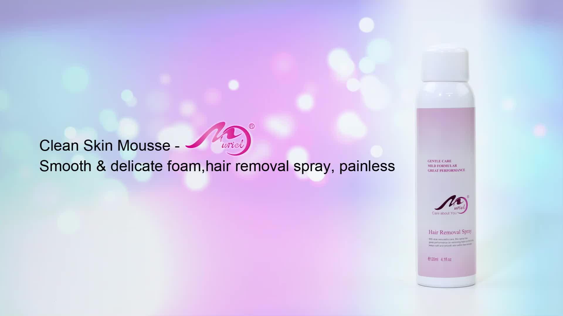 Depilation Hair Removal Cream Smooth Chest Body Hair Removal Spray Cream