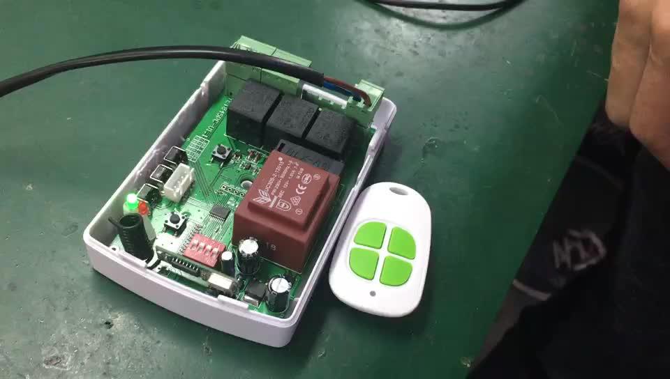 스마트 홈 와이파이 컨트롤러 관형 모터 3 채널 433 mhz 보안 코드 차고 도어 컨트롤러 YET845-WIFI