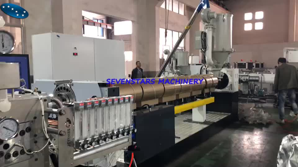 PP hollow package box sheet extrusion making machine line