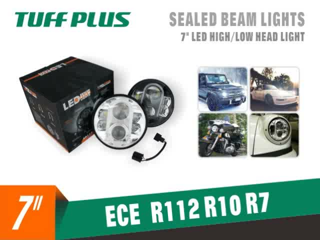 Wholesale 7 inch LED High Low Sealed Beam Headlight