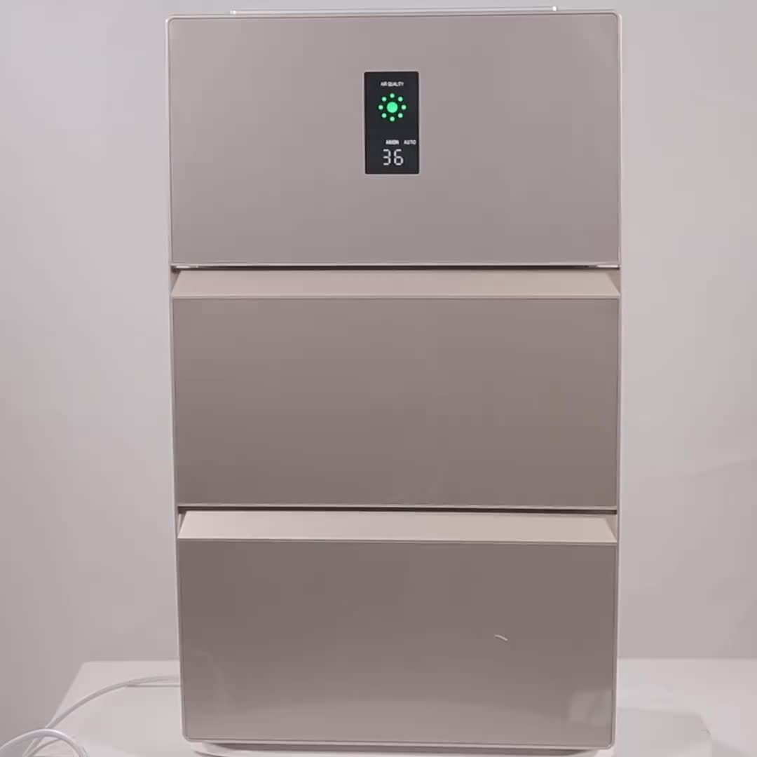 CE CB ROHs Approval Negative Ion whole House Room Air Purifier with Hepa
