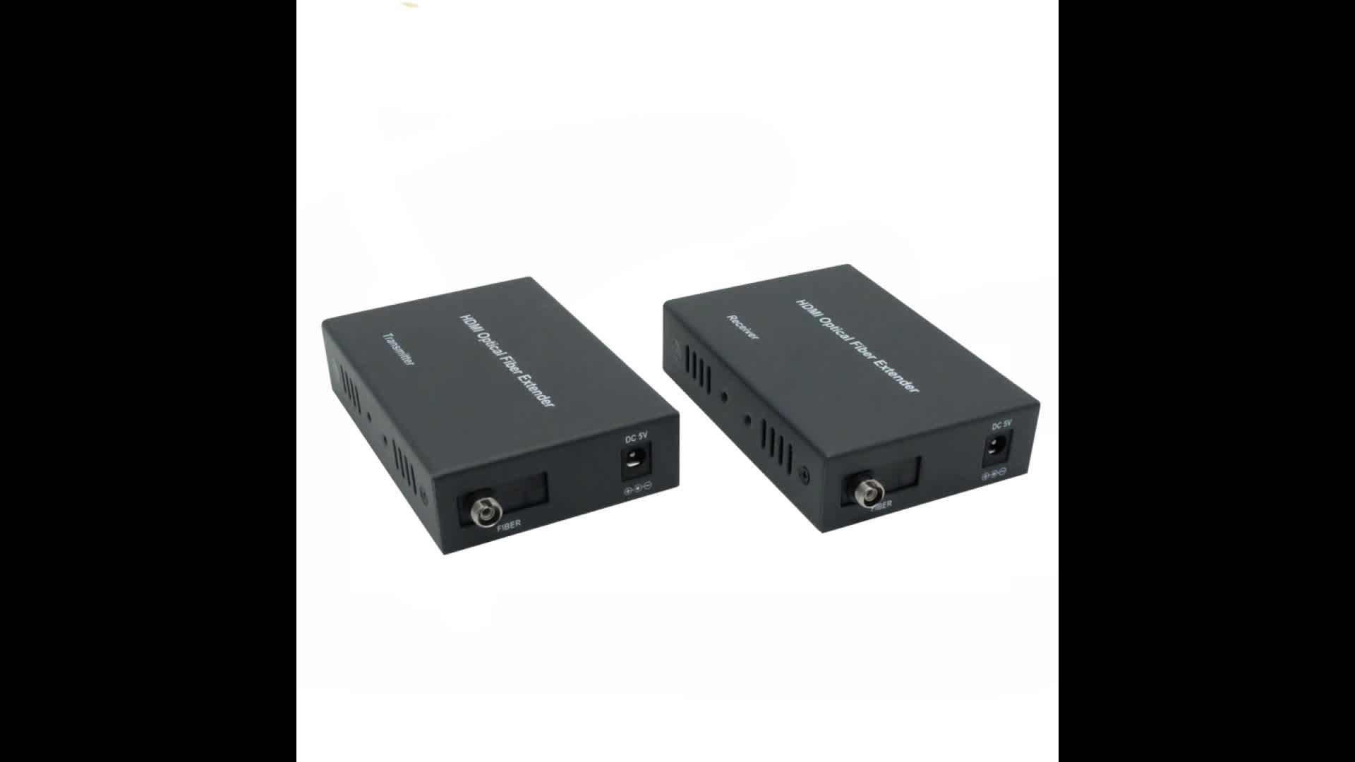 PWAY  Transmitter 1080P@60Hz DT103F  Fiber Optic Extender 20KM